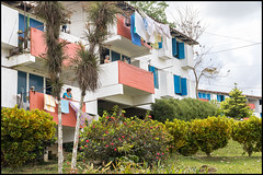 Flats at Las Terrazas. (John R Chandler) Tags: buildings cuba places flats ecovillage lasterrazas otherkeywords unescobiospherereserve sierradelrosario