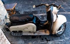 1959 Zndapp Bella (frattonparker) Tags: nikond90 nikkor18300mmvr raw lightroom6 viveza2 frattonparker btonner scooter rusty worn used greece rodos