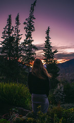 Sentir(nos) (Volvtil) Tags: chile sky mountain colors clouds outdoor amanecer cajondelmaipo