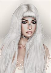 monso-Yubin ([] Nieor Svir []) Tags: woman meshbodylara style lotd poetic maitreya fashion hair blogging sl secondlife logo meshhead alterego hairfair16 personen portrt monso