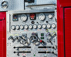 controls (beachwalker2008) Tags: fireengine controls dals handles levers