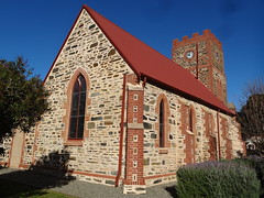 Port Elliot. St Judes Anglican Church and tower. It opened in 1854 but the tower was only finished in 1937. (denisbin) Tags: church hotel postoffice institute southcoast anglican councilchamber portelliot