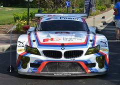 BMW Z4 race car (Thumpr455) Tags: july 2016 upstate carscoffee greenville southcarolina sc auto car automobile worldcars nikon d800 afnikkor3570mmf28d bmw z4 race german tudor imsa