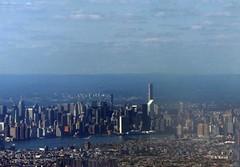 Manhattan Skyline (featfannyc) Tags: jetblue jfkairport nyc newyorkcity august2015 manhattan skyline