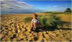 Clayton, Heacham Beach (Jason 87030) Tags: sand beach weather hunstanton heacham coast wash norfolk work july 2016 camera phone nokia humbug sea water grass nice light beautiful clouds lighting