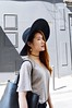 DSC_0095 (Likeabyul) Tags: revival hm korea korean chinese french style blogger fashion fashionblog fashionblogger styleblogger grey black hat widebrimmedhat pleather lookbook girl asian nastygal likeabyul look asiangirl frenchblogger france paris oldandnew