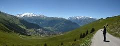 Grand Combin (4314m) & Verbier, Switzerland (nicnac1000) Tags: valais switzerland verbier valdebagnes grancombin