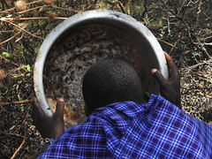 DSCN0295 (David Bygott) Tags: africa tanzania misigiyo maasai ngorongoro nca warrior moran soup olpul