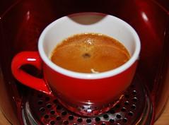 Kaffee (Der Kremser) Tags: kaffee coffee red drink genuss joy nikon nikond40x