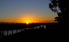 2016-07-24 Sunset (Ggreybeard) Tags: sunset sydney observatory sky railings harbour water nsw