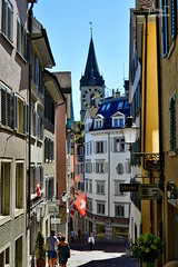 Zurich old city (Minh Son PHAN) Tags: house zurich slope city