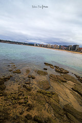 Gijn (Moira_Fee) Tags: gijon asturias asturies xixon paisaje landscape hdr playa beach puerto piedras stones bad weather nubes clouds cloudscape water agua nature moira fee