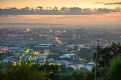 my home town Tanzi  .   in Taiwan Taichung .    DSC_5016 (Ming - chun ( very busy )) Tags:    taichung taichungcity taiwan tanzi travel sky light nikon d800 storm city view     sunset  cloud    landscape nikkor   typhoon  house building     scene evening mountain    18105mm f3556