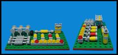 Circuit Board (Karf Oohlu) Tags: lego moc circuitboard baseplate