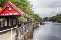 227 - Loch Katrine (md93) Tags: 366 loch katrine trossachs scotland sirwalterscott steamship cruise tourist attraction visitor centre pier