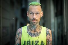 Stranger #107: Simone (w@@t) Tags: portrait genova 100strangers f14 tattoos