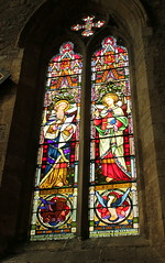 Stained glass windows (Graham`s pics) Tags: church minster window stainedglass stainedglasswindow colour colourful howden markettown eastridingofyorkshire travel toursim