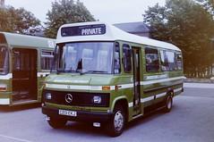 PICT0382 (pjlcsmith2) Tags: busdriveroftheyear brompton barracks md maidstonedistrict mercedes minibus l608d rootes c201ekj privatisation
