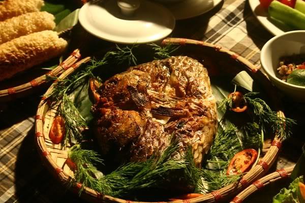 4Cá suối nướng-món ngon không thể bỏ lỡ khi đến Quảng Bình