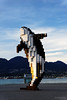 20150427-45-Digital Orca sculpture catching setting sun reflection (Roger T Wong) Tags: travel sculpture canada vancouver bc britishcolumbia 2015 sony2470 digitalorca rogertwong sonyfe2470mmf4zaosscarlzeissvariotessart sonya7ii sonyilce7m2 sonyalpha7ii