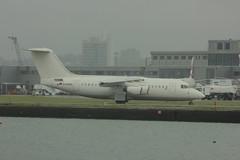 D-AMGL (Rob390029) Tags: city london plane airport rj aircraft aviation jet civil passenger arrival bae regional civilian avro taxiing rj85 lcy wdl eglc damgl