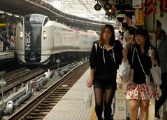 Yokohama station (P5160080) (mr_nihei) Tags: girl beauty station japan train railway yokohama kanagawa