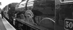 Double Header (Sir Hectimere) Tags: braunton steamlocomotives nunneycastle atlanticcoastexpress specialtrains