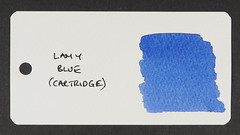 Lamy Blue - Word Card