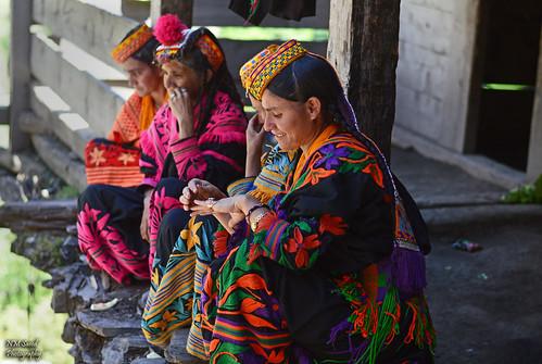 Women of Kalash Tribe