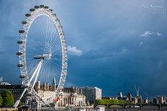 Eye and Sky (markkeohane) Tags: sky london westminster thames river lumix dramatic londoneye ferriswheel bigwheel lx100