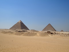 The pyramides of Giza!