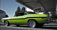 Sublime Green (Jonas.W.) Tags: green norway norge samsung dodge 1970 mopar sublime esso challenger musclecar 2016 ebody nx300