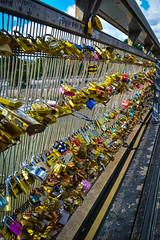 Pont de Arts 2 (chriswalts) Tags: travel paris france football euros pontdesarts