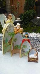 The Holy Family by Everything About Santa (Everything About Santa) Tags: joseph mary jesus holyfamily religiousfigurine fiberresin everythingaboutsanta