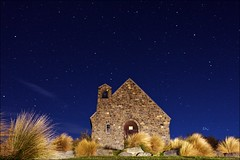 / Church of the Good Shepherd (randomix) Tags: outdoors nature night stars architecture canonef1635mmf28liiusm