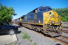 CSX 976 (Fan-T) Tags: ohio ge 976 csx berea