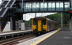 153378 (Moments of Yesterday) Tags: kirkstall forge railway station