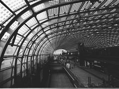 Torino Porta Susa Railway Station (Marcello Iaconetti Photography) Tags: portasusa torinoportasusarailwaystation huaweip9 huawei oo biancoenero vsco blackandwhite torino turin july people bw smartphone vscocam preset italy railway architecture architettura geometrie