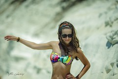 olee!! (ylli.lamaj) Tags: love scaladeiturchi sicilia sicily mare summer girl girls trip vacanze italy italia color sky portrait