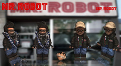 Mr. Robot (Yellowdude8) Tags: show woman man game america wonder photography star robot justice tv iron lego mr flash superman christian captain superhero batman wars superheroes hulk league avengers thrones minifigure slater minifigures