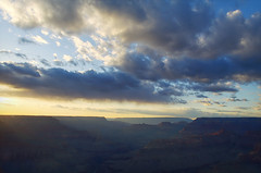 DSC_0036 mohave point sunset hdr 850 (guine) Tags: grandcanyon grandcanyonnationalpark canyon clouds rocks sunset hdr qtpfsgui luminance