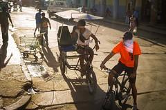 Cuba. Bus Window Shot (10 (H.L.Tam) Tags: bicycleincuba cuban photodocumentary panasonicgm5 street cyclingincuba sketchbook taxi cubasketchbook documentary cubanbicycle cuba cubantaxi bicycletaxi buswindowshot