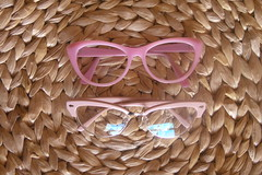 (chimidoro) Tags: pink floral vintage glasses frames peach kitsch pastels accessories spectacles polkadot cateye glassescase chimidoro roxannekirigoe
