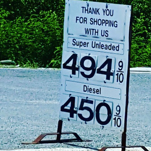 #TINTJDH Photos from Turks and Caicos. US Dollars gas prices....per gallon..... So.... Stop complaints about our $2.45 per gallon.