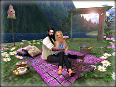 FRENCH GARDEN PICNIC (Virtualconceit.com) Tags: circa frenchgarden meshplants purpleposes {prettythings} truthhair drop maitreya lb lapointebastchild reckless samurai tmd themensdepartment colourmeproject epiphany dura signature fri glamaffair ic steinwerk letistattoo
