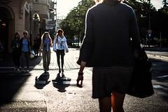 321/365 Womankind (ewitsoe) Tags: street trees ladies summer urban sun sunlight lady female walking fun evening lightandshadows women warm woamn cityscape shadows citylife style polska afterwork memory 365 crosswalk poznan polishgirl poalnd nikond80 filmcinema eyeem ewitsoe