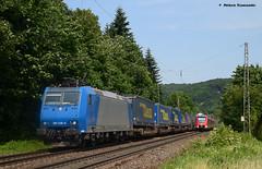 185 536-0 Crossrail (vsoe) Tags: railroad train germany deutschland engine eisenbahn railway nrw bahn rhein nordrheinwestfalen rhinevalley zge rheinstrecke