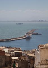 View from the Casbah, Algiers (Sylviane Moss) Tags: port algeria view casbah vue algrie algiers kasbah alger