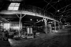 IMG_4823.JPG (Jamie Smed) Tags: iphoneedit handyphoto jamiesmed app snapseed september lens fisheye prime fixed wide angle focus 2014 hdr blackwhite bw blackandwhite rokinon manual canon eos dslr 500d t1i rebel photography warehouse geotag geotagged industrial