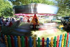 Redfest carrousel (Benn Gunn Baker) Tags: redfest benn gunn baker canon 550d t2i bristol st george park church rd 2016 august festival fairground lake carrousel